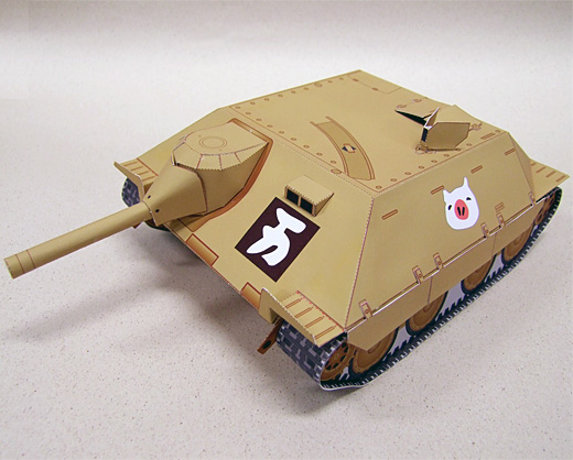 Paper Model Tanks Girls Und Panzer